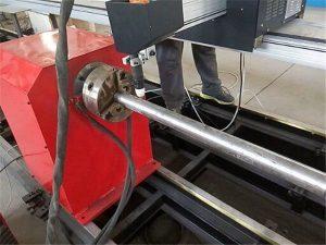 2017 Nuova macchina da taglio portatile per tubi in metallo al plasma, macchina da taglio per tubi in metallo CNC