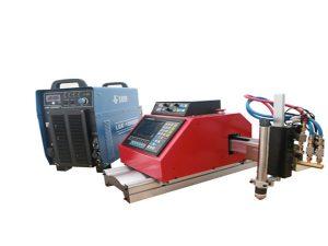 Macchina da taglio al plasma portatile automatica CNC per acciaio inossidabile alluminio