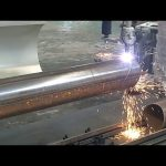 Tagliatrice d'acciaio a tubo rotante del tubo della fiamma del plasma di 3 assi di CNC