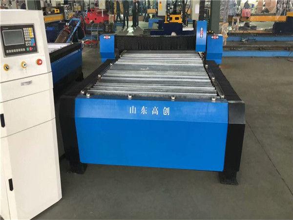 Metallo del piatto della macchina 10mm di CNC del taglio al plasma della Cina Huayuan 100A