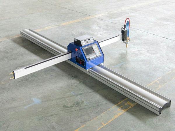 Piccola tagliatrice della fiamma del plasma di CNC del piatto d'acciaio di basso costo