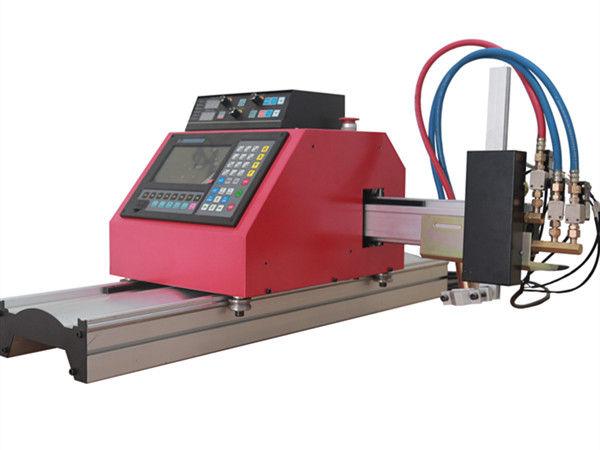 Tagliatrice multifunzionale quadrata della fiamma di CNC di profilo d'acciaio del tubo con alta qualità