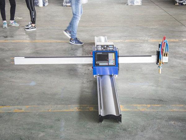 Macchine per la produzione di piccole imprese portatili a prezzo ridotto con cnc al plasma di nuova tecnologia