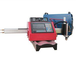 Tagliatrice portatile del plasma di CNC e tagliatrice automatica del gas con la pista d'acciaio