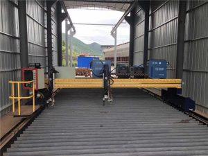 Tagliatrice al plasma di precisione CNC 13000mm accurata con servomotore