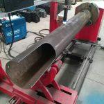 macchina da taglio al plasma cnc a basso costo con tubo circolare a cerchio rotante
