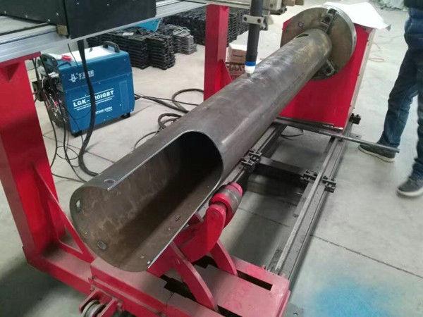 Tagliatrice del plasma di CNC di basso costo del tubo del cerchio di CNC dell'asse rotante