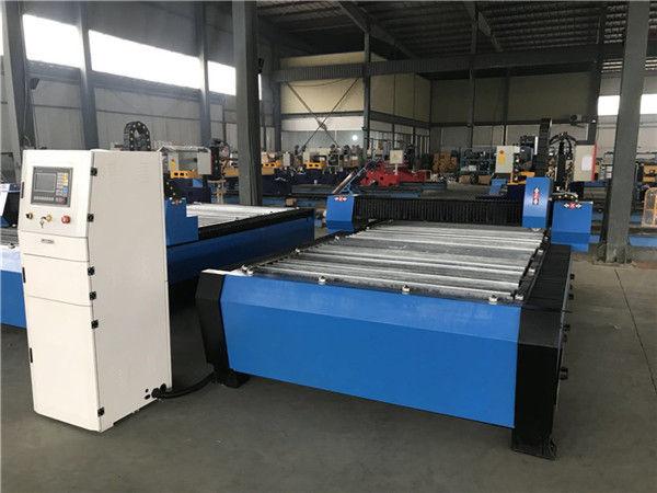 Tagliatrice portatile del plasma di CNC della taglierina di prezzi economici di garanzia commerciale per il ferro di Matel dell'acciaio inossidabile