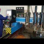 fabbricazione del metallo della tagliatrice del plasma di CNC del cavalletto resistente automatizzata