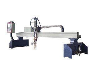 tagliatrice del plasma di cnc del cavalletto di alta efficienza / tagliatrice della fiamma di CNC