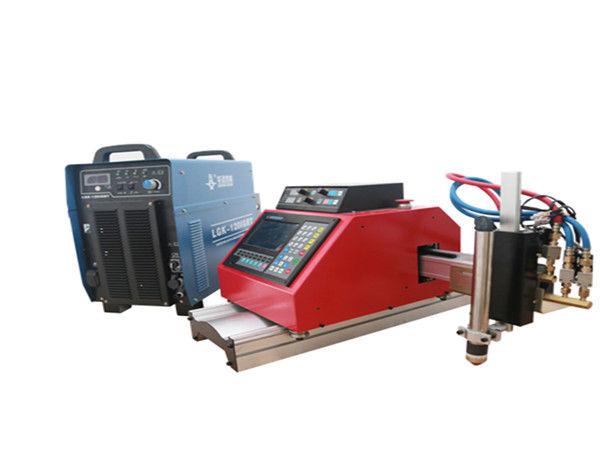 piccola macchina da taglio al plasma CNC portatile di alta qualità per lamiera di acciaio zincato