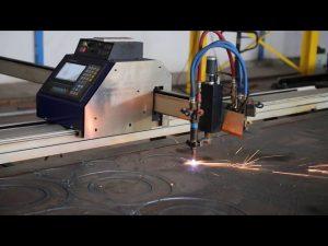 tagliatrice al plasma mini cnc portatile di tipo grantry a basso costo