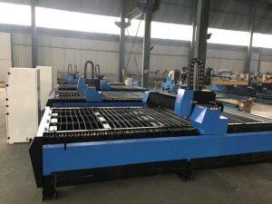 piccola macchina da taglio al plasma cnc per lavorazione dei metalli con alta precisione
