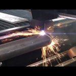 vendita macchina da taglio al plasma cnc con rotativa, taglierina al plasma per tubo metallico