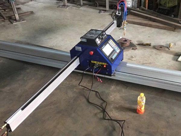 piccola tagliatrice del plasma del piatto di CNC 1530 taglierina portatile della tagliatrice della lamiera sottile del metallo PlasmaFlame di CNC da vendere